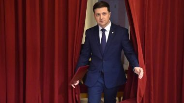 Volodymyr Zelensky Leads Exit Polls in Ukraine's Presidential Elections; Incumbent President Petro Poroshenko Concedes Victory to Actor and Comedian